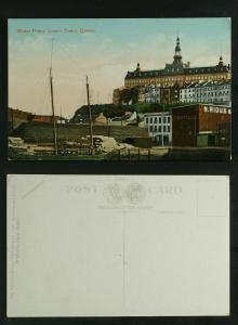 Water front , Lower town Quebec c 1910
