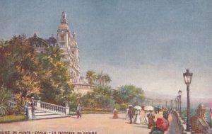 MONTE-CARLO, Monaco, 1900-1910s; La Terrasse de casino ; TUCK 7449