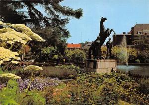 Netherlands Hengelo Holland Bataafse Kamp aan de Enschedesestraat Statue