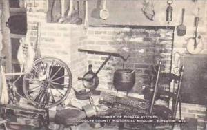 Wisconsin Superior Corner of Pioneer Kitchen Interior Douglas County Historic...