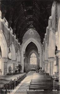 Wales Bodelwyddan The Marble Church, interior