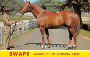 Swaps, Winner of the Kentucy Derby Lexington, Kentucky, KY, USA Unused