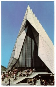 US    PC3011  CADET CHAPEL, US AIR FORCE ACADEMY, COLORADO