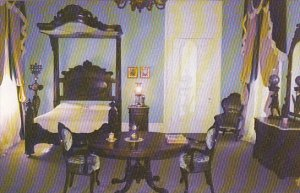Louisiana White Castle Nottoway Plantation Master Bedroom