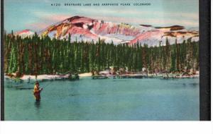 COLORADO, 1930-1940's; Braynard Lake And Arapahoe Peaks