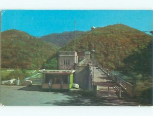 Pre-1980 DAM SCENE Hinton - Near Beckley West Virginia WV AF5804