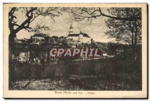 Postcard Old Nove Mesto Nad Met Zamek