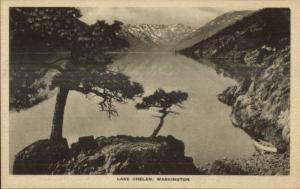 Scenes Along Great Northern GN RR Train c1920s Postcard Lake Chelan WA