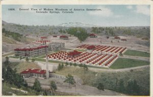 COLORADO SPRINGS, Colorado, 00-10s 8; Woodman Sanatorium