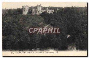 Old Postcard Vallee du Chateau Guer Tonquedec