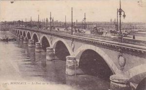 France Bordeaux Le Pont sur la Garonne