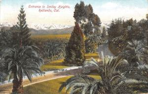 USA Cal. Entrance to Smiley Heights Redlands 1909