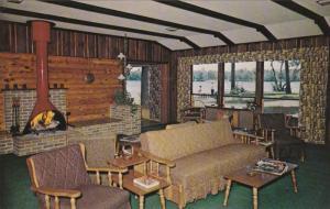 Interior View, Eagle Bay Lodge, Eagle Lake, Park Rapids, Minnesota 1940-60s