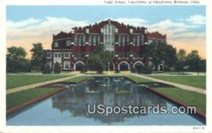 Field House, University of Oklahoma Norman OK Unused
