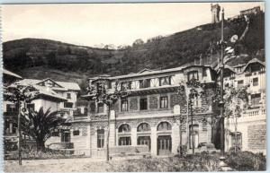 MONTE IGUELDO~SAN SEBASTIAN, Spain  Estacion Funicular Railroad c1910s Postcard