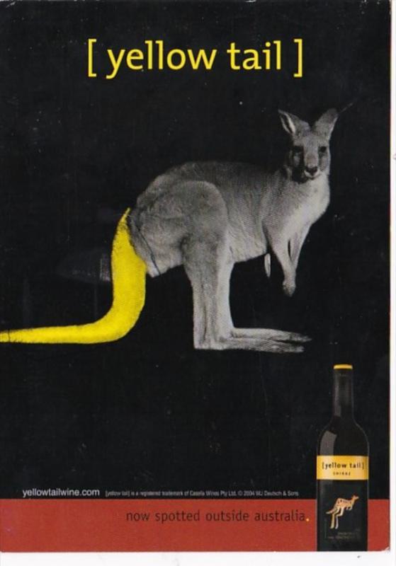 Advertising Yellow Tail Wine From Australia 2005