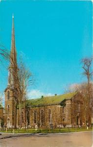 Kingston NY~Reformed Protestant Dutch Church~1955 Postcard