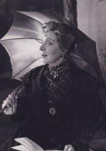 Edith Evans Countess Of Rossillion Royal Shakespeare Company Theatre Postcard