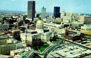 Georgia Atlanta State Capitol Building and Skyline