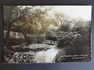 Norfolk SANDRINGHAM Bog Garden & York Cottage Old RP Postcard Ralph Dersingham