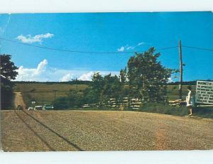 Pre-1980 TOWN VIEW SCENE Moncton New Brunswick NB p9643