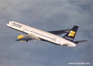 Icelandair Boeing 757-200 in flight,  60-80s
