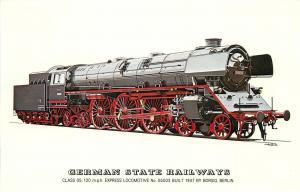 German State Railway Locomotives history express locomotive by Borsig Berlin