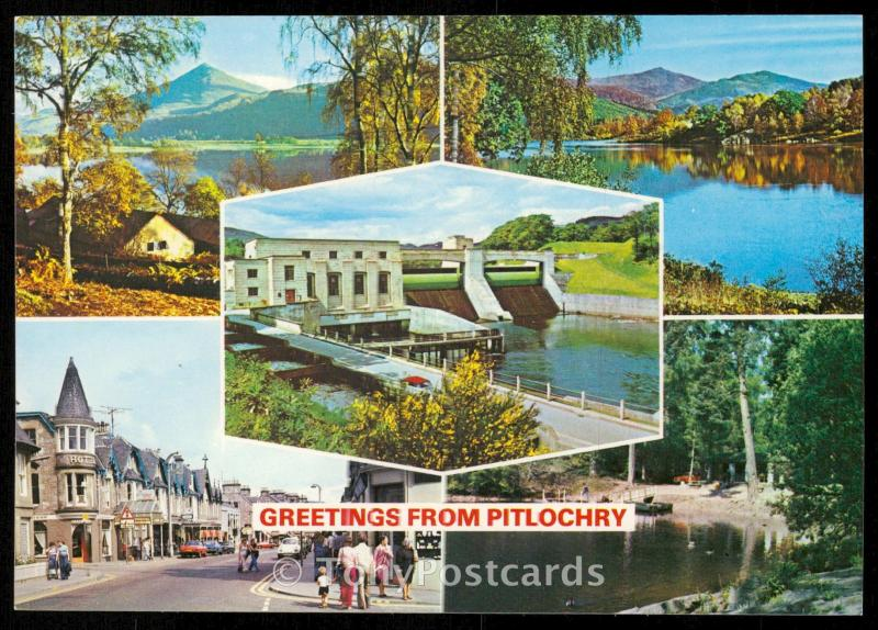 Greetings from Pitlochry