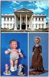 Vintage Anaheim, California Postcard TOY & DOLL MUSEUM 1238 S. Beach Blvd.