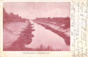 Rehoboth Beach Delaware The Old Canal Scenic View Vintage Postcard AA37173
