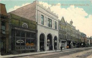 1913 New Kensington Pennsylvania Columbus Theater postcard 6974