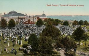TORONTO, Ontario, Canada, 00-10s; Band Concert, Canadian National Exhibition #2