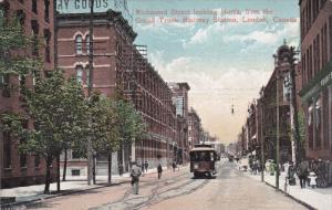 LONDON , Ontario , Canada , 00-10s ; Richmond Street Looking North