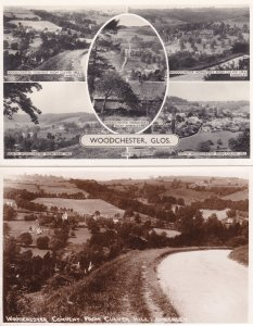 Woodchester Convent From Culver Hill Gloucester 2x Postcard s