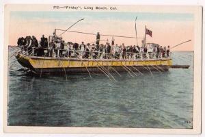Fishing Boat Friday, Long Beach Cal