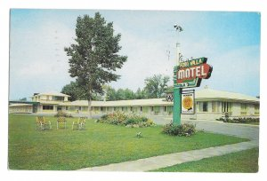 Canada Fort Villa Fort Erie Ontario Triple AAA Quality Motels Vintage Postcard