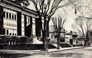 Lancaster OH Italianate High School~Home w/Big Porches 1911 To Houck, Crown City