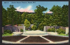 North Carolina BOONE Daniel Boone Theatre Blue Ridge Parkway Chrome