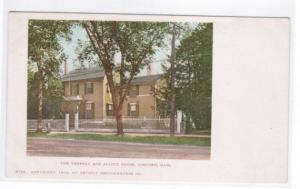 Thoreau Alcott House Concord Massachusetts Detroit Publishing 1900c postcard