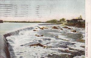 Pawtucket Falls Merrimac River Lowell Massachusetts 1911