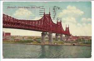 New York, NY - Blackwell's Island Bridge - 1913