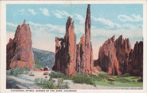 Colorado Colorado Springs Cathedral Spires Garden Of The Gods