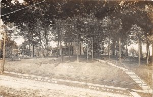 F52/ Ionia Michigan RPPC Postcard c1910 Residence of Ashdown