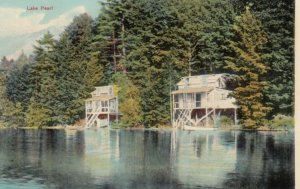 WRENTHAM, Massachusetts, 1900-10s; Lake Pearl