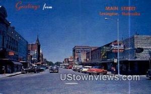 Main Street Lexington NE Unused