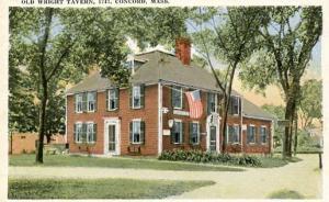 MA - Concord. The Wright Tavern