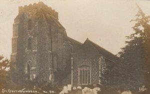 RP: ST. OSYTH , Essex , England ,1916; Church