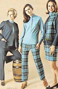Invitation to Fashion 1970 light postal marking on front