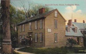 Massachustetts Lexington Hancock Clarke House