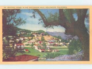 Linen HOLLYWOOD HILLS HOMES Los Angeles California CA F9511